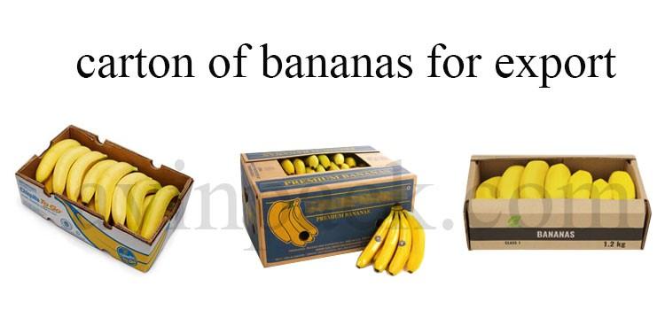 Banana cartons