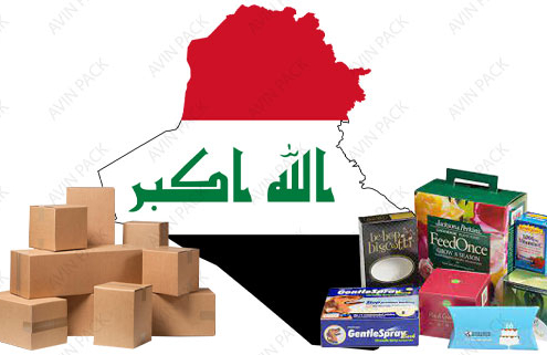 Special packaging for exports for Iraq