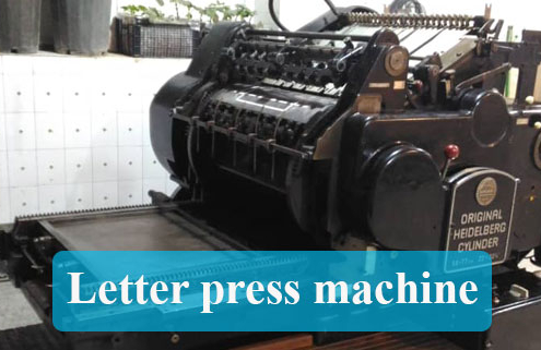 letter press machine